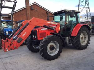 Massey Ferguson 5465 With MF/Quicke Loader