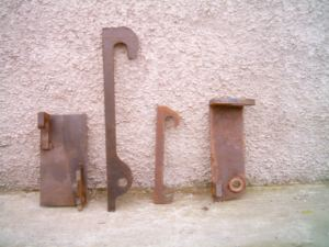 Loader Implements Weld On Brackets