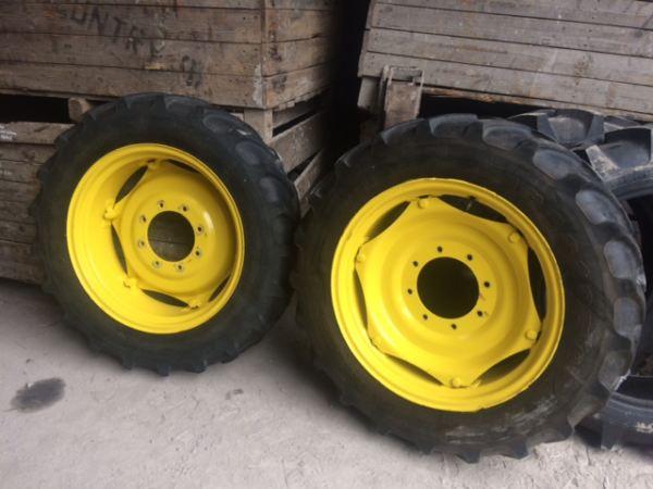 John Deere Tractor Tire Rims : Full set john deere wheels products gribben tractors